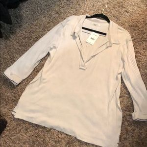 BNWT Free People deep v neck top